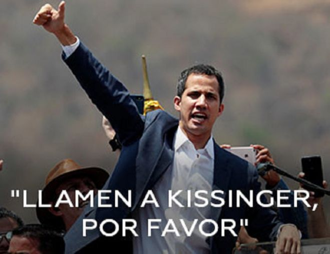 Llamen a Kissinger, por favor