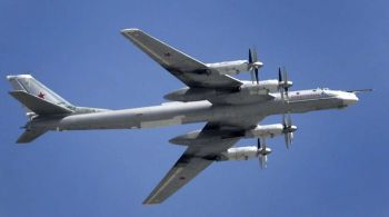 Las naves interceptadas son del tipo TU-95.